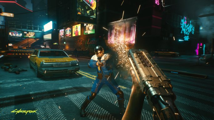 Cyberpunk 2077 is a slideshow on PS4 and Xbox One