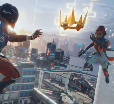 Hyper Scape, the first Ubisoft battle royale that bets on verticality, powers and integration