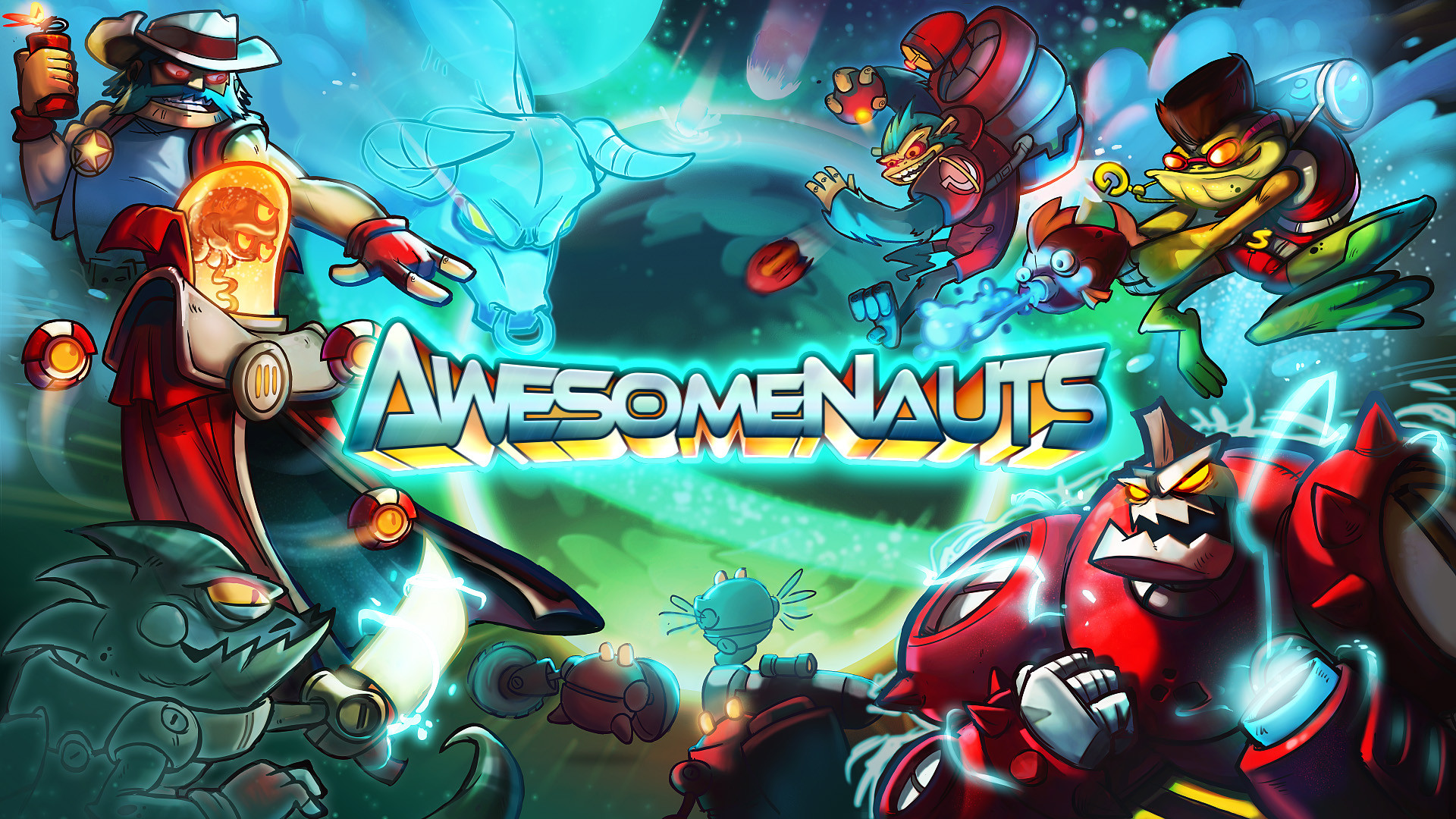 'AwesomeNauts' is updated with two new characters for free