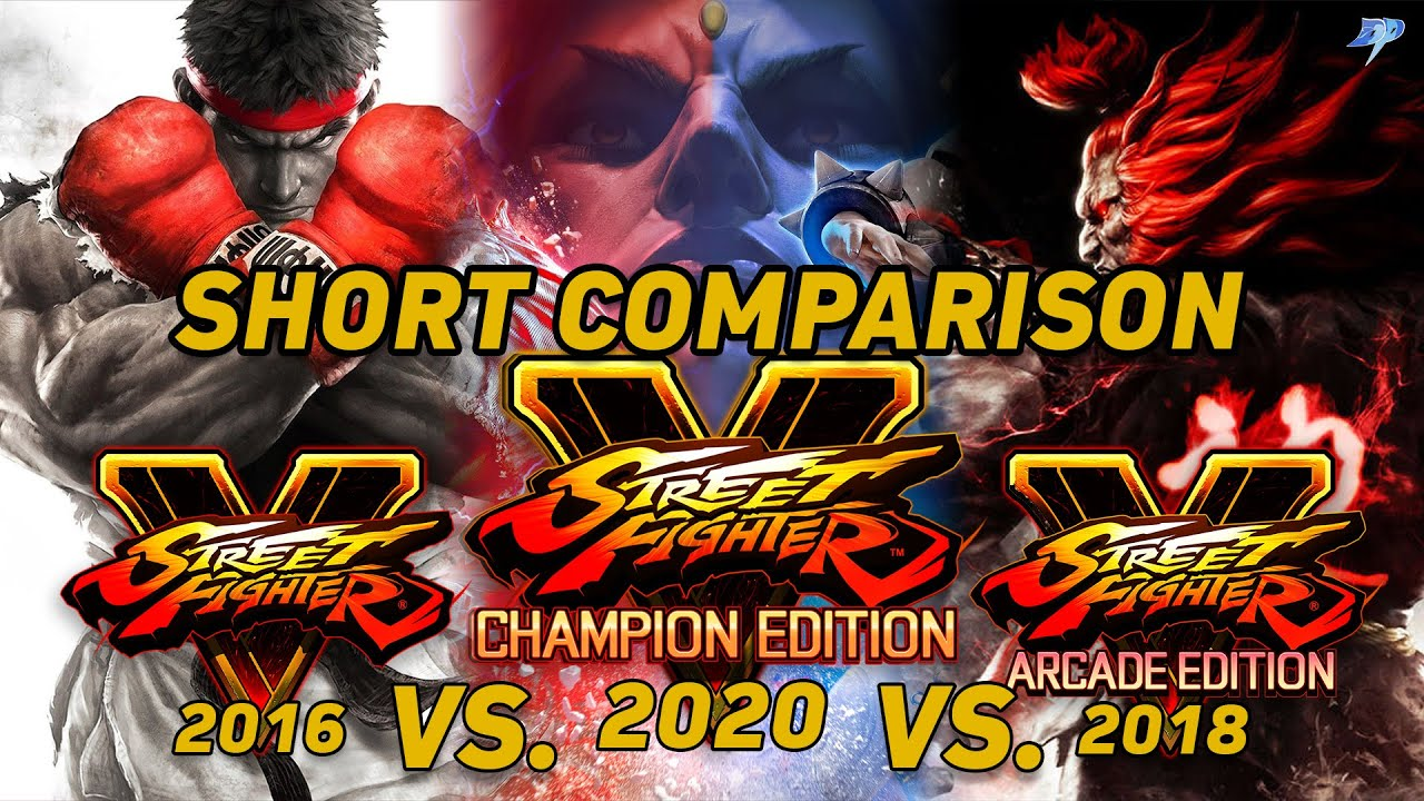 Street Fighter V Champion Edition analysis. Much more than an